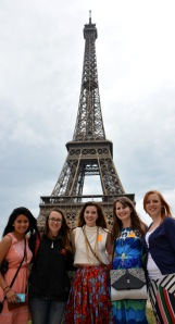 Eiffel tower group