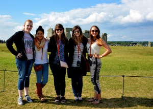 Stonehenge group pic